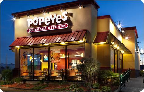 Popeyes exterior
